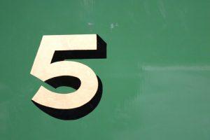 cinq idées reçus