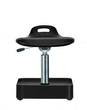 Tabouret rotatif bas assise avec manette - WS 4022