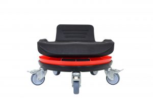 Tabouret rotatif bas assise support dos - WS 4225
