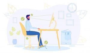 Quel est l'intérêt d'utiliser un repose-pied ergonomique au bureau?